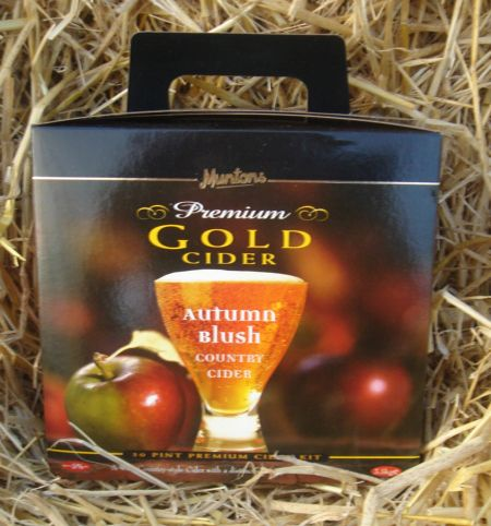 Muntons Gold Old Autumn Blush Cider 30 Pint