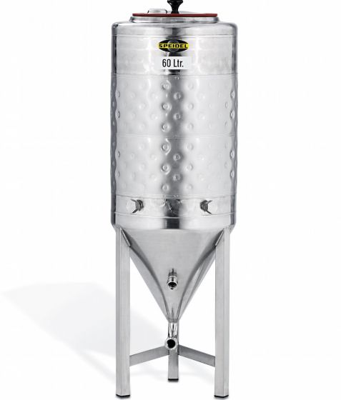 Speidel 60L Stainless Steel Conical Jacketed Fermenter