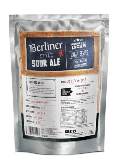 Mangrove Jack's Berliner Sour Pouch