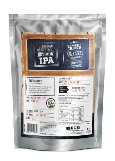 Mangrove Jack's Limited Edition Juicy Session IPA Pouch