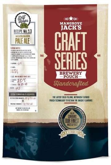 Mangrove Jack's Craft Series Australian Pale Ale With Dry Hops Pouch