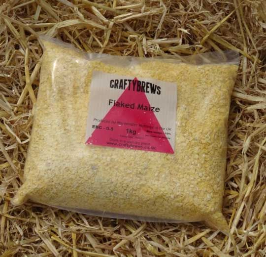 Flaked Maize (UNMALTED) 1kg