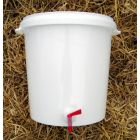 Brouland 30 Litre bucket with tap + drilled lid and airlock