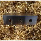 Stainless Steel 3-Hole Under Bar Bracket