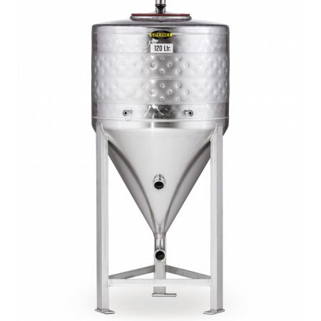 Speidel 120L Stainless Steel Conical Jacketed Fermenter