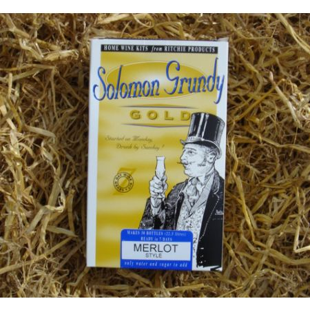 Solomon Grundy Gold 30 Bottle Merlot