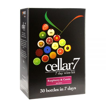 Cellar 7 - 30 bottle 7 day Raspberry and Cassis