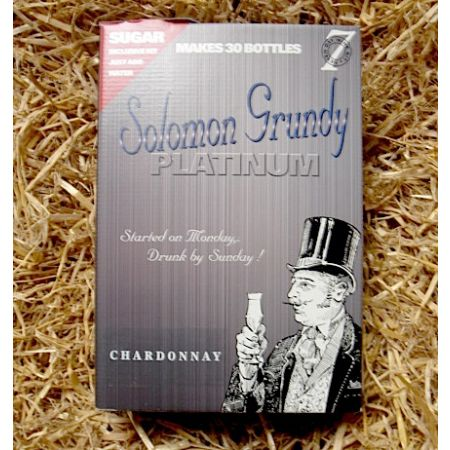 Solomon Grundy Platinum 30 Bottle Chardonnay