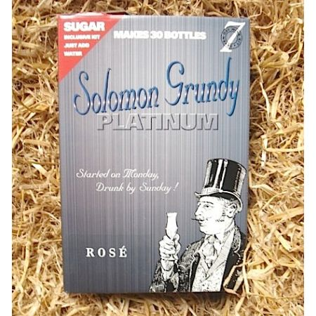 Solomon Grundy Platinum 30 Bottle Rose