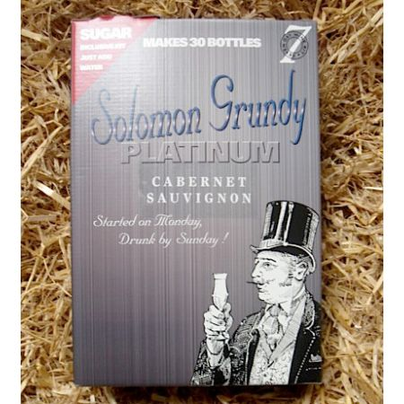 Solomon Grundy Platinum 30 Bottle Cabernet Sauvignon