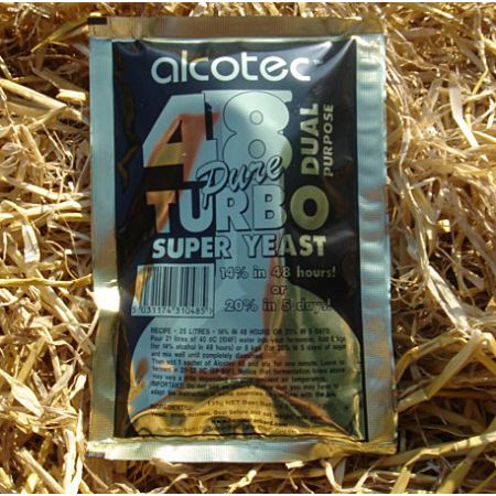 Alcotec 48 - The dual Turbo Yeast