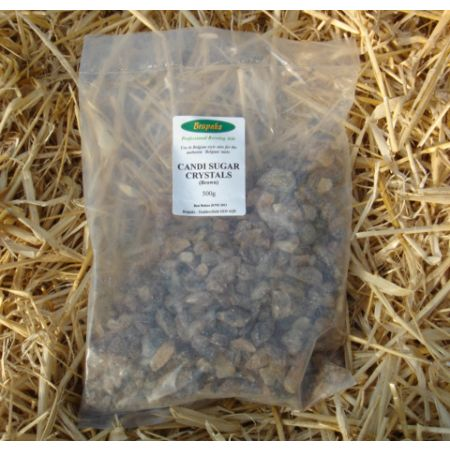Candi Sugar Crystals - Brown 500g