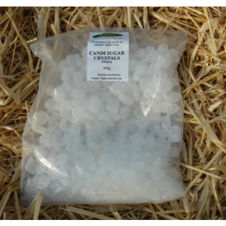 Candi Sugar Crystals - White 500g