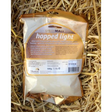 Foil Pack Spraymalt Hopped Light (DME) 500grm
