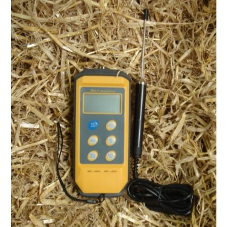 Digital Thermometer with Probe and Alarm