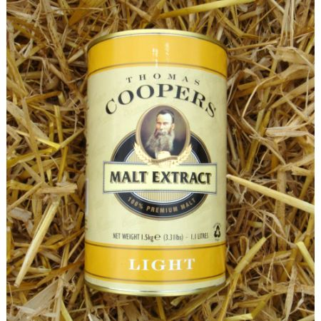 Coopers Malt Extract Light 1.5kg