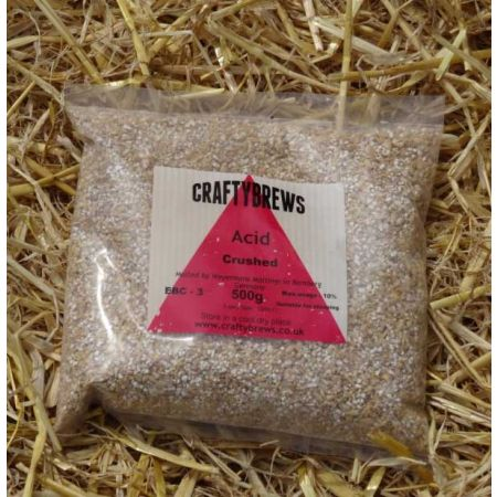 Acid Malt (Crushed) 500g