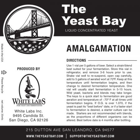 Yeast Bay  Wlp4637 - Amalgamation - Brett Super Blend