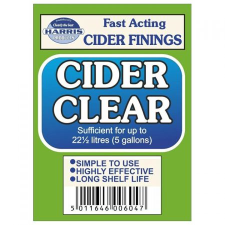 Harris Cider Clear Fining Sachet
