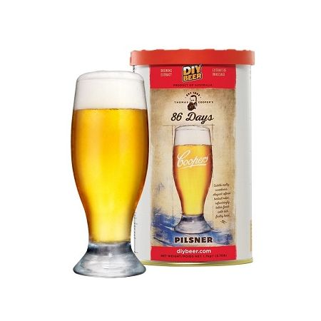 Coopers 86 Day Pilsner 40 Pts