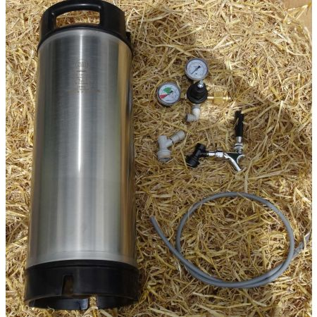 Reconditioned Cornelius Keg  - Starter Set (2 keg)