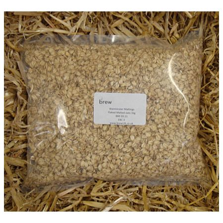 Warminster Flaked Malted Oats (crushed) 1kg