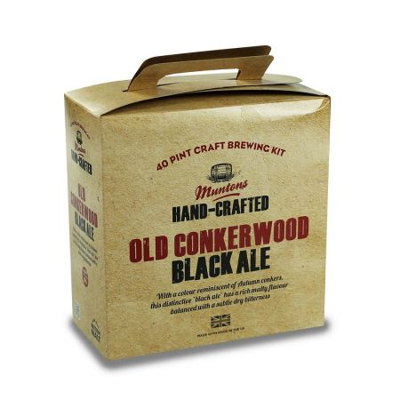 Muntons Hand Crafted Old Conkerwood Black Ale 3.6kg