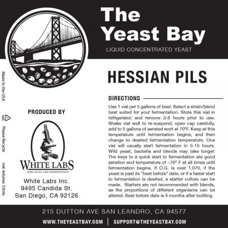 Yeast Bay Wlp4035 - Hessian Pils