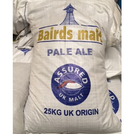 Baird Low Colour Pale Malt Crushed 25kg
