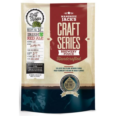 Mangrove Jack's Irish Red Ale Pouch