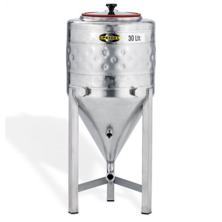 Speidel 30L Stainless Steel Conical Jacketed Fermenter