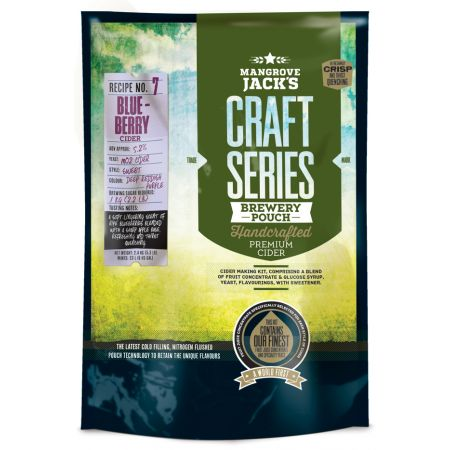 Mangrove Jack's Craft Series Blueberry Cider Pouch - 2.4kg