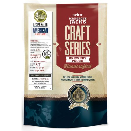 Mangrove Jack's Gluten Free American Pale Ale Pouch