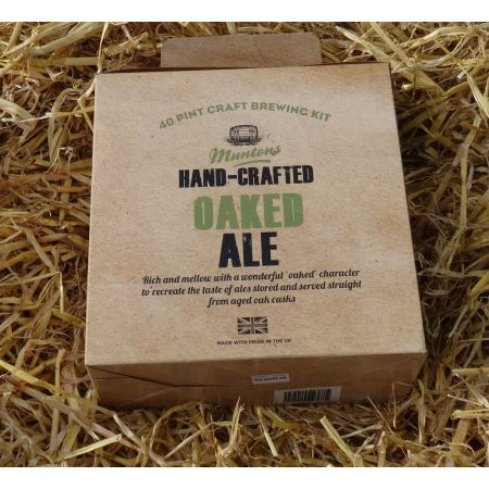 Muntons Hand Crafted - Oaked Ale