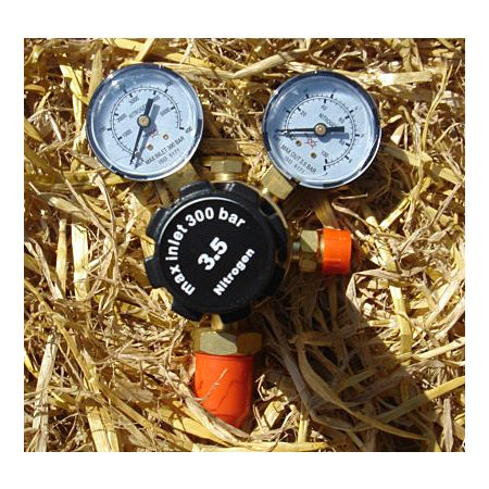 Dual Gauge Nitrogen Regulator