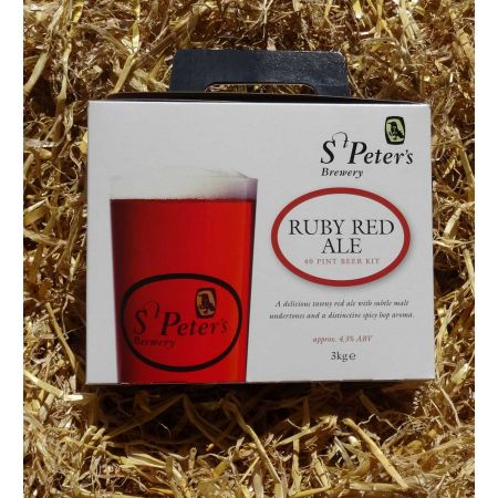 St Peters Ruby Red Ale 40 pt
