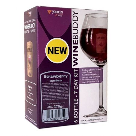Youngs Winebuddy Strawberry 6 Bottle Kit
