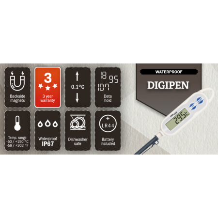 Pocket Digital Thermometer - Pen Type