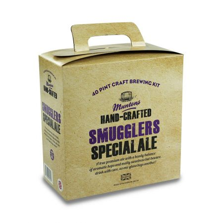 Muntons Hand Crafted Smugglers Special Premium Ale 3.6kg