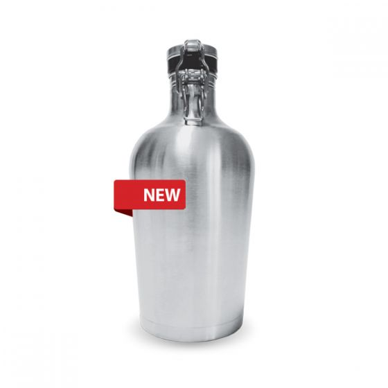 2 Litre Stainless Steel Growler