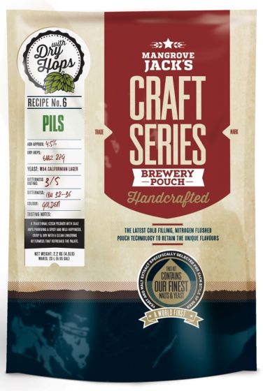 Mangrove Jack's Craft Series Dry Hopped Pils Pouch